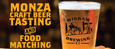 Monza Craft Beer Tasting & Matching