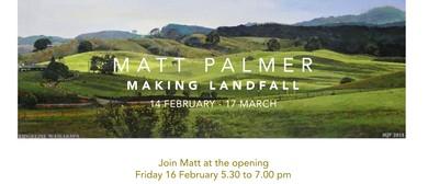 Matt Palmer: Making Landfall