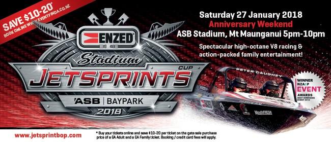 ENZED 2018 Jetsprints Stadium Cup