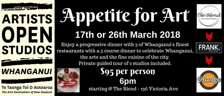 Whanganui Artists Open Studios - Appetite for Art