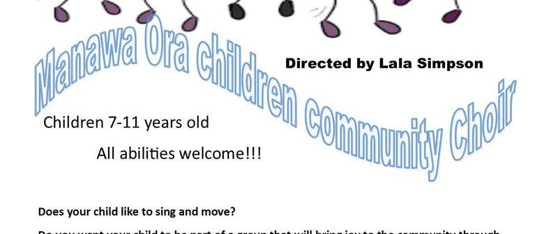 Manawa Ora Children Community Choir