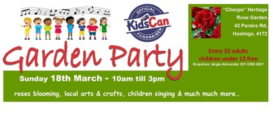 KidsCan Garden Party