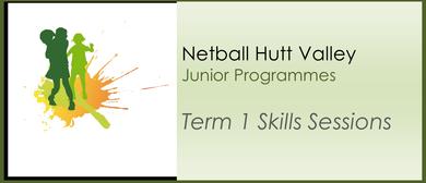 Term 1 Netball Skills Sessions