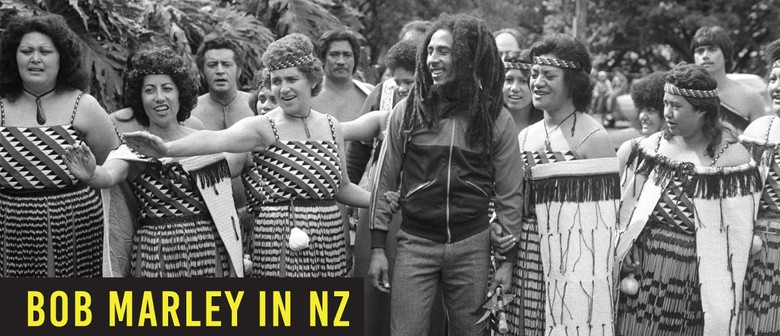 Bob Marley in NZ - Projected Photo Story Exhibition