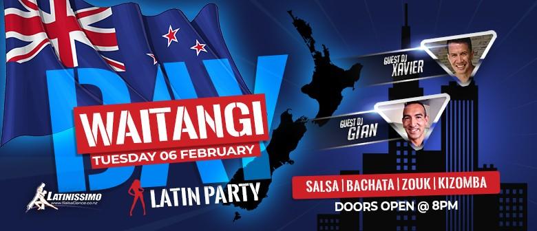 Waitangi Day Latin Party