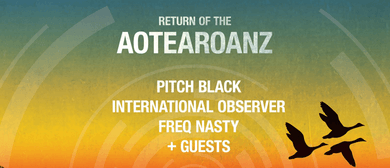 Pitch Black with International Observer & FreQ Nasty