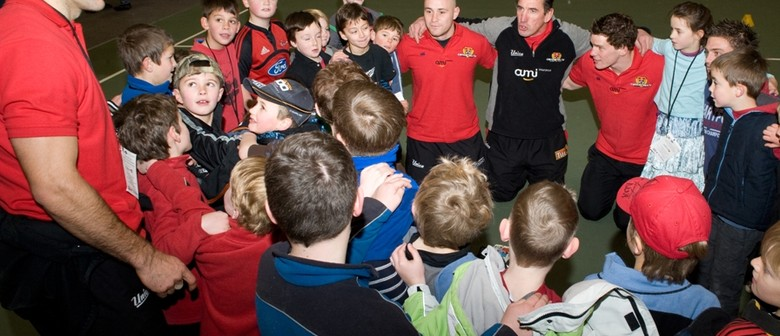 Classic Hits Kids' Breakfast with the Canterbury Rugby Squad