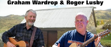 Graham Wardrop & Roger Lusby Two Well Knowns Share the Stage