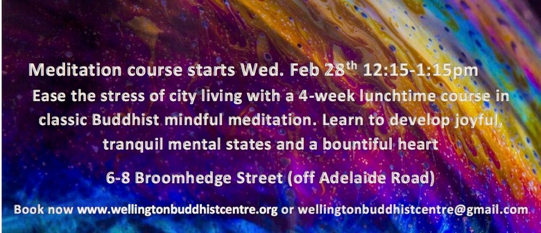 Lunchtime Meditation Course