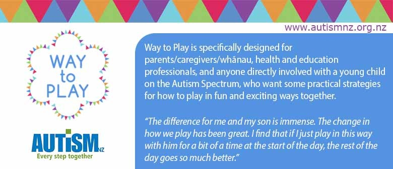 Autism Workshop Way to Play Nelson
