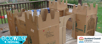 EcoWest Festival - Make a Cardboard Castle