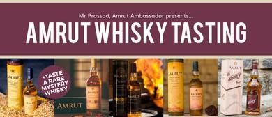 Amrut Whisky Tasting