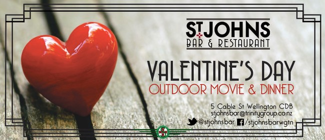 Valentine's Day Outdoor Movie & Dinner