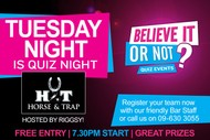 Image for event: Quiz Night With Riggsy