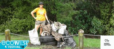 EcoWest Festival - Manutewhau Awa Clean Up