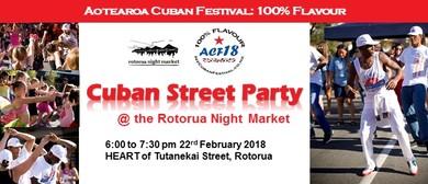 Cuban Street Party - Rotorua Night Market