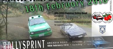 Northland Car Club - HCMC Rallysprint