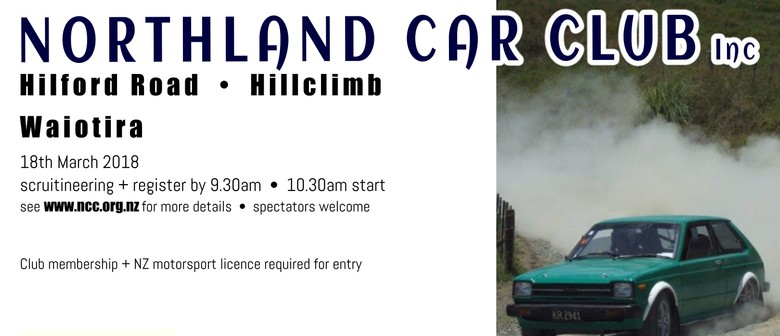 Northland Car Club - Hillclimb