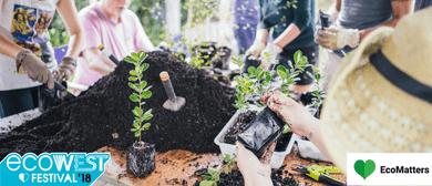 EcoWest Festival - Native Plant Potting