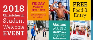 2018 Christchurch Student Welcome Event