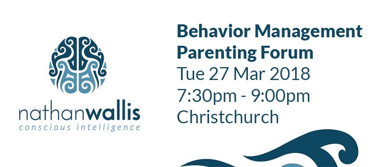 Nathan Wallis - Behavior Management Parenting Forum