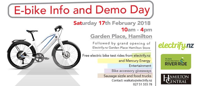E-bike Info and Demo Day