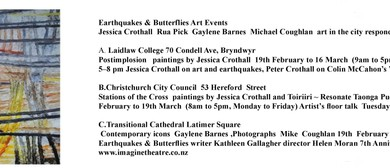 Earthquakes & Butterflies Art Exhibition New Artworks