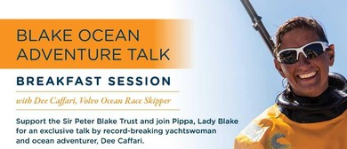 Volvo Ocean Race Breakfast Session with Dee Caffari