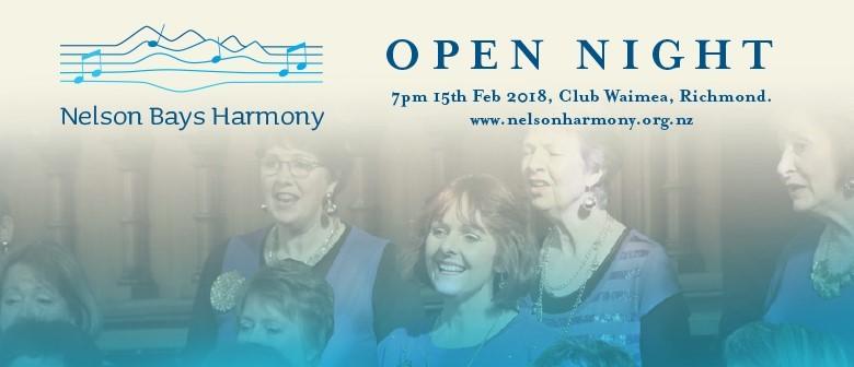 Nelson Bays Harmony Open Night