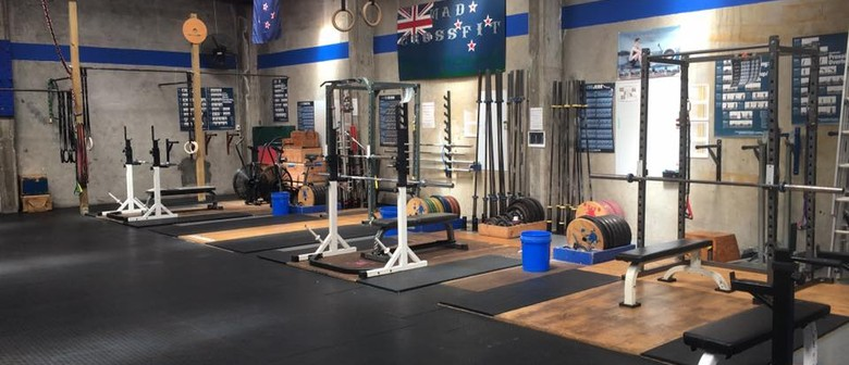 Why start a garage gym save time · dad does crossfit