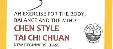 Tai Chi Chuan-Chen Style