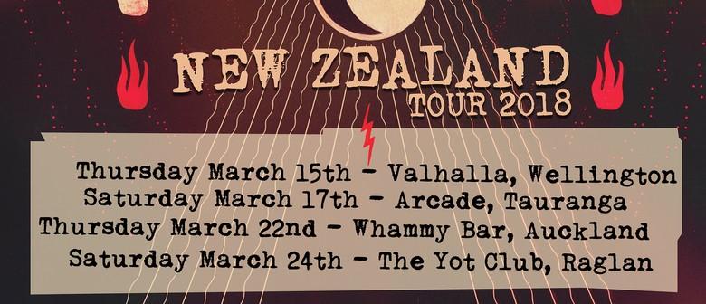 Seven Crowns (UK) Punk Rock Tour of New Zealand