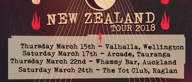 Seven Crowns (UK) Punk Rock Tour of New Zealand
