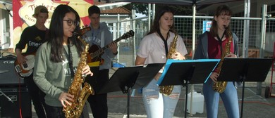 Easter Jazz At the Market