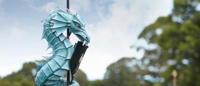 Discover Tudor Garden Mythical Beasts