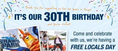 Huka Prawn Park Turns 30!