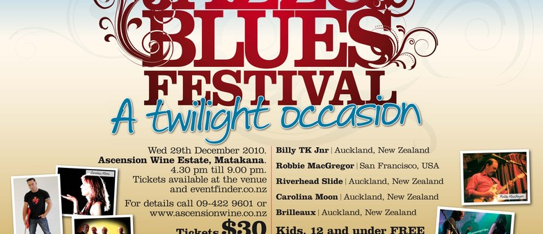 A Twilight Occasion - Wine, Jazz and Blues Festival