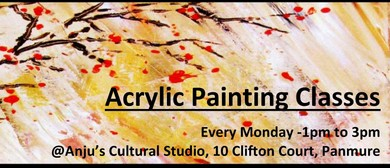 Acrylic Painting Afternoon Classes