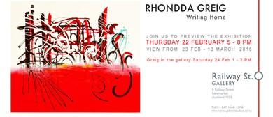 Writing Home - Rhondda Greig
