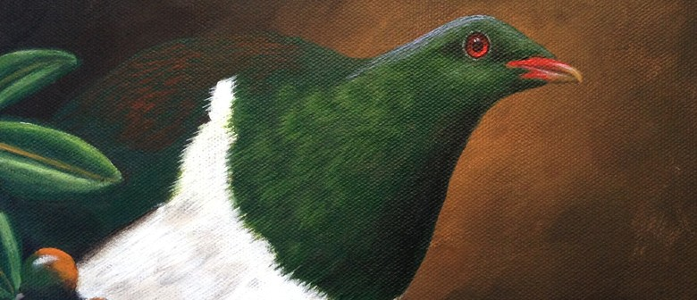 Woodpigeon Painting Workshop for Beginners