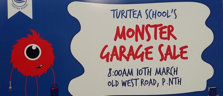 Turitea School's Monster Garage Sale