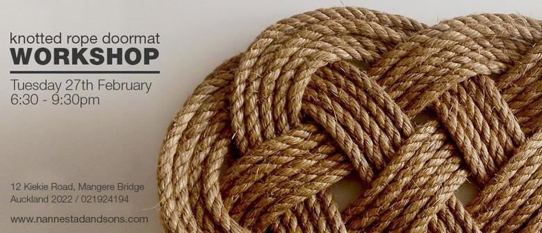 Craft Workshop – Knotted Rope Mat Workshop