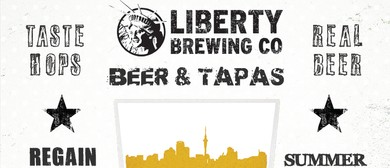 Craft Beer and Tapas - With Liberty Brewing Co