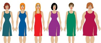 Body Shape and Colours – How to Look Your Best