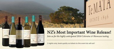 Te Mata 2016 Showcase Tasting