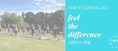 Yoga and Oils In the Park