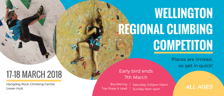 Wellington Regional Climbing Competition 2018