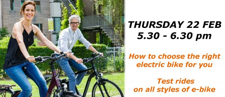 Electric Bike Info Night