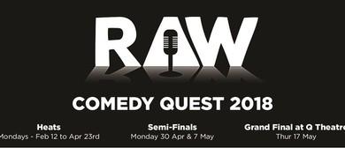 Raw Comedy Quest: The Semi-Finals