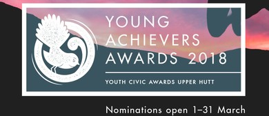 2018 Upper Hutt City Young Achievers Awards